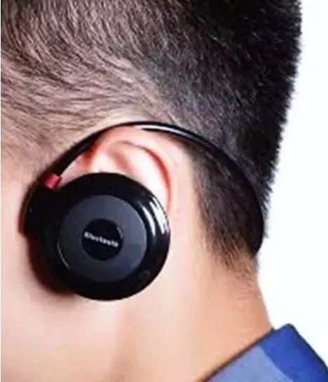 Fone de ouvido sem fio mini 503 cartão micro Sd Radio Fm