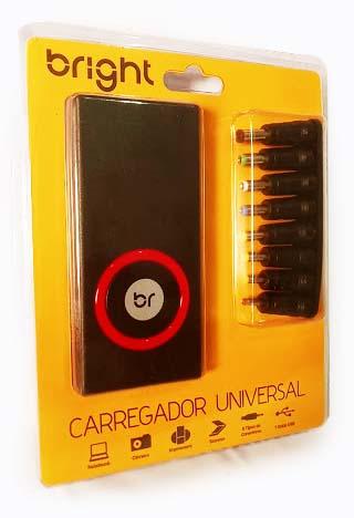 Fonte Carregador Universal para Notebook com 9 Conectores