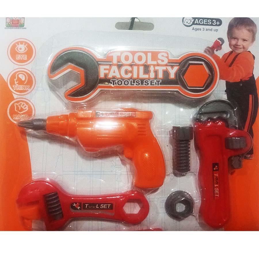 Kit de ferramentas para crianças acima de 3 anos