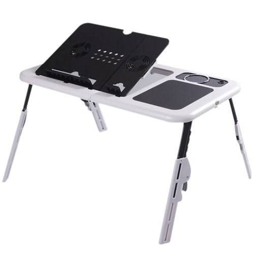 Mesa portátil dobrável p/ Notebook branca