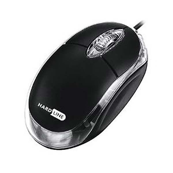 Mouse óptico usb hardline
