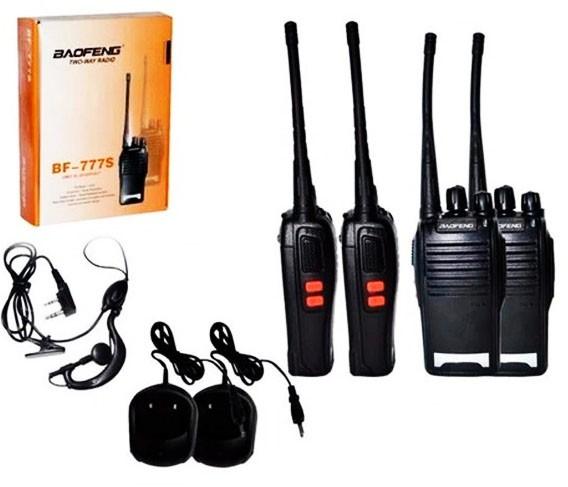 Rádio comunicador Baofeng 777s