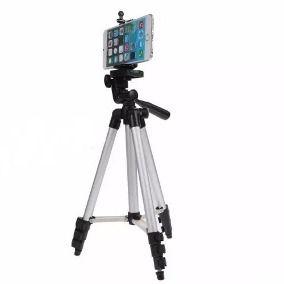 Tripé p/ câmera e celular com 1 metro de altura