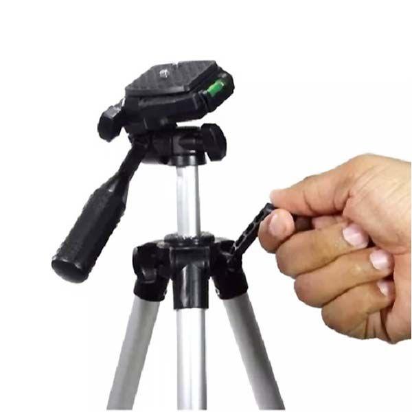 Tripé de 1mt para câmera e celular