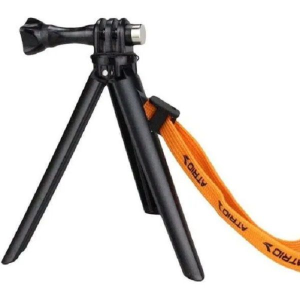 Mini tripé para Action Câmeras 2 Em 1 Com Grip