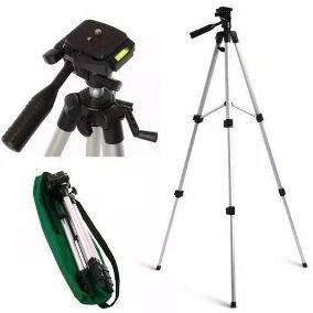 Tripé para câmeras e Smartphones 1,30mt