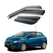 Calha de Chuva Chevrolet Gm Onix 2013 a 2017 4 portas