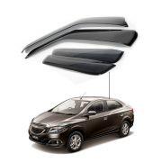 Calha de Chuva Chevrolet Gm Prisma 2013 a 2017 4 portas