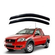 Calha de Chuva Fiat Strada 2 portas