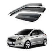 Calha de Chuva Ford New ká Hatch Sedan 2012 a 2015 4 portas
