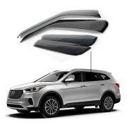 Calha de Chuva Hyundai Santa fé 2013 a 2017  4 portas