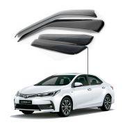Calha de Chuva Toyota Novo Corolla 2015 a 2018 4 portas -