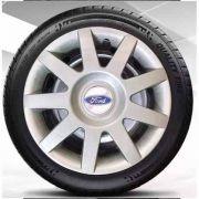 Calota aro 14 para Fiesta, Ka, Courrier, Focus, Prata Ford  G873