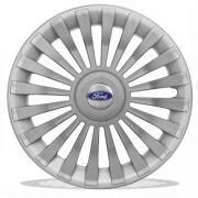 Calota aro 15 New Fiesta Focus Prata Ford G171