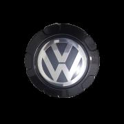 Calota Centro Miolo De Roda Volkswagen Saveiro Trooper Preta