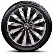 Calota Esportiva Elitte Cromada Volkswagen Aro 13 E2019