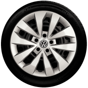 Calota Mod. Original Aro 15 Volkswagen polo Fox ace Fox Golf