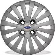 Calota New Fiesta Aro 15 Prata Ford G242