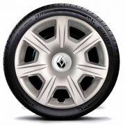 Calota Novo Renault Logan Sandero 2015 2016 Aro 15 P54