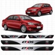 Soleira Resinada Personalizada para Toyota Etios