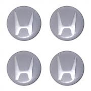 Emblemas Resinado Honda Prata