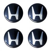 Emblemas  Resinado Honda Preto