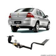 Engate Reboque Chevrolet Prisma  2001 a 2012