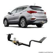 Engate Reboque Hyundai Santa fé 2014 a 2017