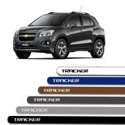 Friso Lateral Personalizado Para Chevrolet Tracker - Todas As Cores