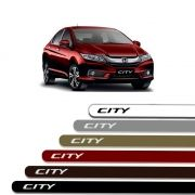 Friso Lateral Personalizado Para  Honda City - Todas As Cores