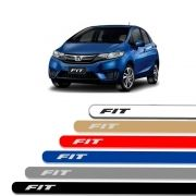 Friso Lateral Personalizado Para  Honda Fit - Todas As Cores
