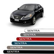 Friso Lateral Personalizado Para Nissan Sentra - Todas As Cores
