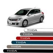 Friso Lateral Personalizado Para Nissan Tiida - Todas As Cores