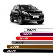 Friso Lateral Personalizado Para Peugeot 2008 - Todas As Cores