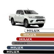 Friso Lateral Personalizado Para Toyota Hilux - Todas As Cores