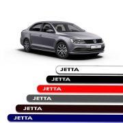 Friso Lateral Personalizado Para  Volkswagen Jetta - Todas As Cores