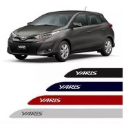 Friso Lateral Personalizado Toyota Yaris - Todas as Cores