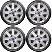 Jogo de Calota Uno Palio Siena Aro 13 Fiat Azul G072j