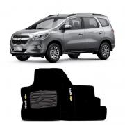 Jogo de Tapete Carpete para Chevrolet in - Preto -