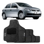 Jogo de Tapete Carpete para Volkswagen Gol G5 G6 - Grafite -