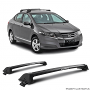 Rack De Teto New Wave Eqmax Honda City 2010 a 2014