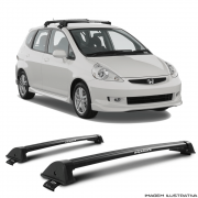 Rack De Teto New Wave Eqmax Honda Fit 2004 a 2008