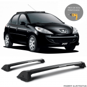 Rack De Teto New Wave Eqmax Peugeot 207 2008 a 2016