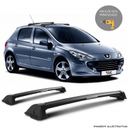 Rack De Teto New Wave Eqmax Peugeot 307 2002 a 2012