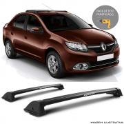 Rack De Teto New Wave Eqmax Renault Logan 2015 a 2018