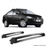 Rack De Teto New Wave Eqmax Volkswagen Polo Sedan 2003 a 2014