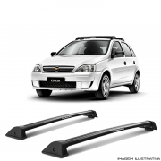 Rack De Teto Wave Eqmax Chevrolet Gm Corsa 2002 a 2014  a