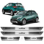 Soleira Anti-risco Hyundai Hb20x 2014 a 2019