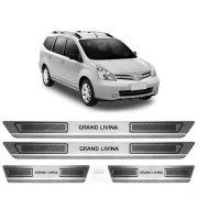 Soleira Anti-risco Nissan Grand Livinia 2011 a 2014