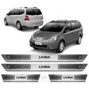 Soleira Anti-risco Nissan Livinia 2010 a 2014